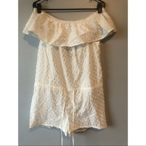 Madewell Off the Shoulder Romper